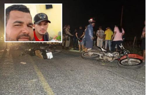 [Colisão frontal entre motocicletas mata dois amigos e deixa mulher gravemente ferida em Delmiro Gouveia (AL)]