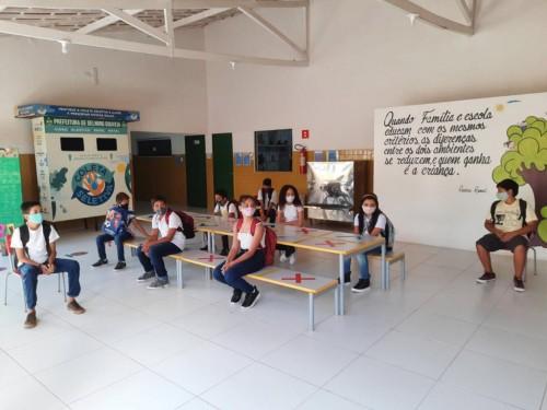[Rede Municipal de Ensino de Delmiro Gouveia retorna às aulas com modelo híbrido para alunos do 5º, 9º ano e EJA]